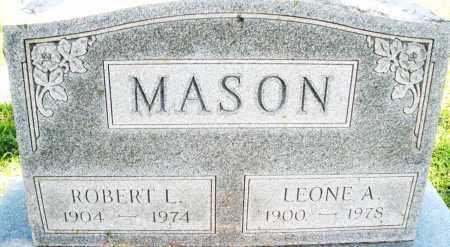 MASON, ROBERT L. - Montgomery County, Ohio | ROBERT L. MASON - Ohio Gravestone Photos
