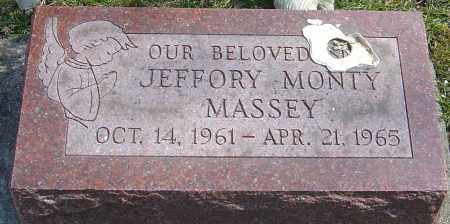 MASSEY, JEFFORY MONTY - Montgomery County, Ohio | JEFFORY MONTY MASSEY - Ohio Gravestone Photos