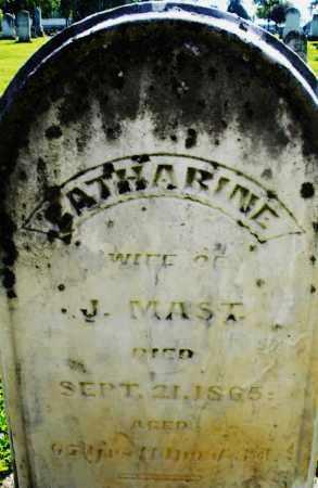 MAST, CATHARINE - Montgomery County, Ohio | CATHARINE MAST - Ohio Gravestone Photos