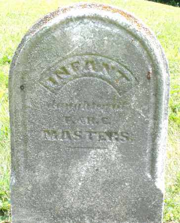 MASTERS, INFANT DAUGHTER - Montgomery County, Ohio | INFANT DAUGHTER MASTERS - Ohio Gravestone Photos