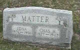 MATTER, EDNA - Montgomery County, Ohio | EDNA MATTER - Ohio Gravestone Photos