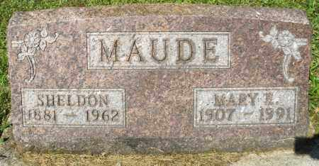 MAUDE, SHELDON - Montgomery County, Ohio | SHELDON MAUDE - Ohio Gravestone Photos
