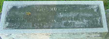 MAXWELL, HALLIE CORWIN - Montgomery County, Ohio | HALLIE CORWIN MAXWELL - Ohio Gravestone Photos