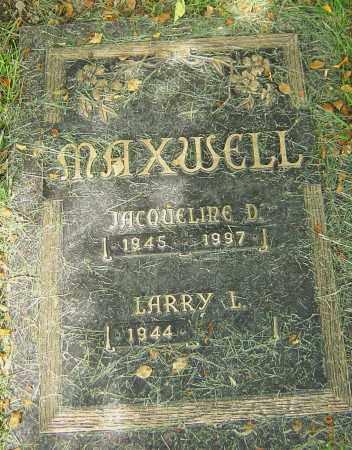 MAXWELL, JACQUELINE D - Montgomery County, Ohio | JACQUELINE D MAXWELL - Ohio Gravestone Photos