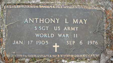 MAY, ANTHONY L. - Montgomery County, Ohio | ANTHONY L. MAY - Ohio Gravestone Photos