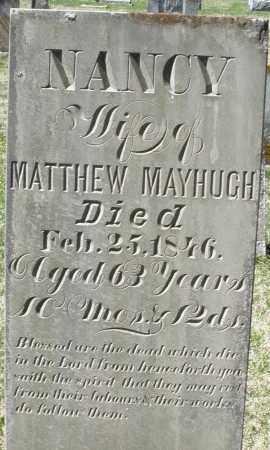 MAYHUGH, NANCY - Montgomery County, Ohio | NANCY MAYHUGH - Ohio Gravestone Photos