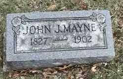 MAYNE, JOHN J. - Montgomery County, Ohio | JOHN J. MAYNE - Ohio Gravestone Photos