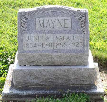 MAYNE, JOSHUA - Montgomery County, Ohio | JOSHUA MAYNE - Ohio Gravestone Photos