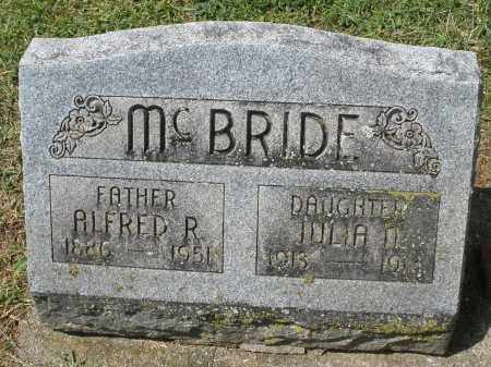 MCBRIDE, JULIA - Montgomery County, Ohio | JULIA MCBRIDE - Ohio Gravestone Photos