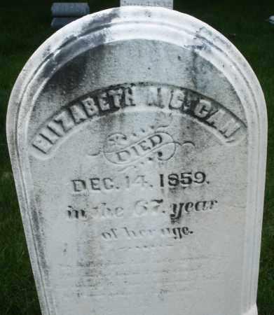 MCCAN, ELIZABETH - Montgomery County, Ohio | ELIZABETH MCCAN - Ohio Gravestone Photos