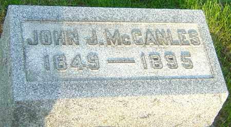 MCCANLES, JOHN J - Montgomery County, Ohio | JOHN J MCCANLES - Ohio Gravestone Photos