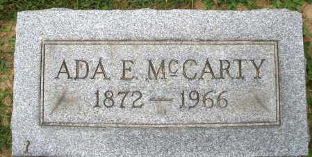 MCCARTY, ADA E. - Montgomery County, Ohio | ADA E. MCCARTY - Ohio Gravestone Photos