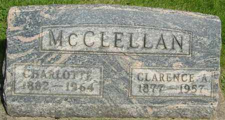 MCCLELLAN, CLARENCE AUGUSTINE - Montgomery County, Ohio | CLARENCE AUGUSTINE MCCLELLAN - Ohio Gravestone Photos