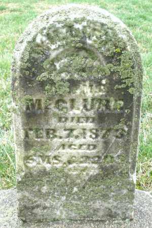MCCLURE, INFANT - Montgomery County, Ohio   INFANT MCCLURE - Ohio Gravestone Photos