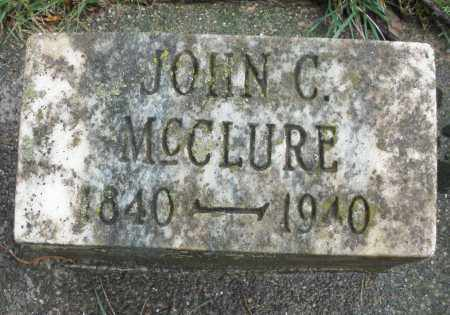 MCCLURE, JOHN C. - Montgomery County, Ohio | JOHN C. MCCLURE - Ohio Gravestone Photos