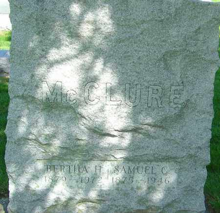 MCCLURE, LULU BERTHA - Montgomery County, Ohio | LULU BERTHA MCCLURE - Ohio Gravestone Photos