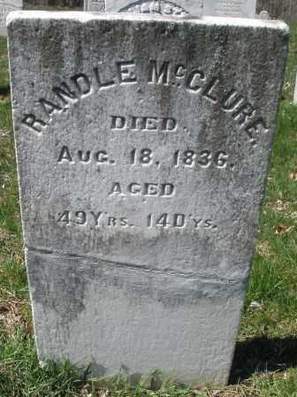 MCCLURE, RANDLE - Montgomery County, Ohio | RANDLE MCCLURE - Ohio Gravestone Photos