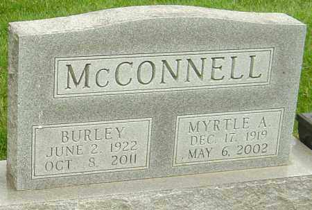 ADAMS MCCONNELL, MYRTLE - Montgomery County, Ohio | MYRTLE ADAMS MCCONNELL - Ohio Gravestone Photos