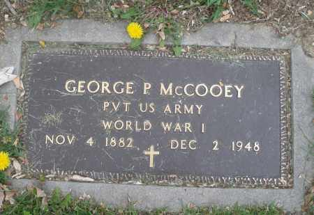 MCCOOEY, GEORGE P. - Montgomery County, Ohio | GEORGE P. MCCOOEY - Ohio Gravestone Photos