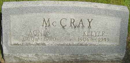 MCCRAY, AGNES - Montgomery County, Ohio | AGNES MCCRAY - Ohio Gravestone Photos