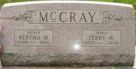 MCCRAY, PERRY WILLIAM - Montgomery County, Ohio | PERRY WILLIAM MCCRAY - Ohio Gravestone Photos