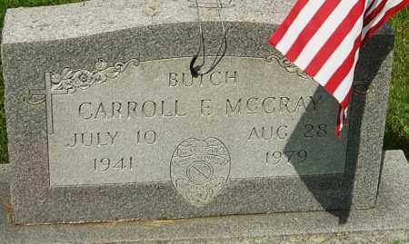 "MCCRAY, CARROLL FRANCIS ""BUTCH"" - Montgomery County, Ohio 