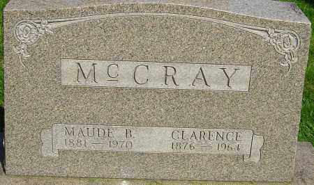 MCCRAY, CLARENCE - Montgomery County, Ohio | CLARENCE MCCRAY - Ohio Gravestone Photos