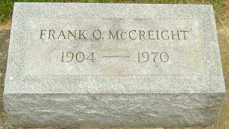 MCCREIGHT, FRANK O - Montgomery County, Ohio | FRANK O MCCREIGHT - Ohio Gravestone Photos