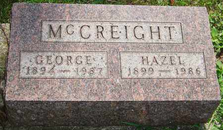 MCCREIGHT, HAZEL - Montgomery County, Ohio | HAZEL MCCREIGHT - Ohio Gravestone Photos