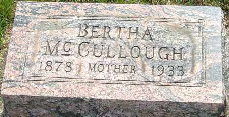 MCCULLOUGH, BERTHA MAY - Montgomery County, Ohio | BERTHA MAY MCCULLOUGH - Ohio Gravestone Photos