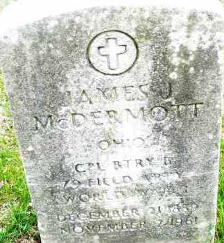 MCDERMOTT, JAMES J. - Montgomery County, Ohio | JAMES J. MCDERMOTT - Ohio Gravestone Photos
