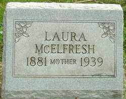 MCELFRESH, LAURA MABEL - Montgomery County, Ohio | LAURA MABEL MCELFRESH - Ohio Gravestone Photos