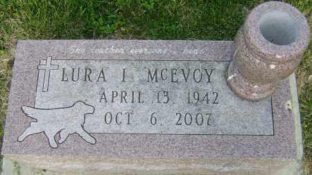 MCEVOY, LURA I - Montgomery County, Ohio | LURA I MCEVOY - Ohio Gravestone Photos