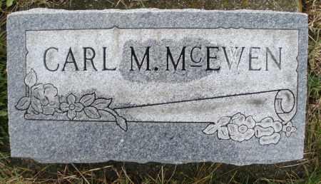 MCEWEN, CARL M. - Montgomery County, Ohio | CARL M. MCEWEN - Ohio Gravestone Photos