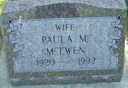 MONTGOMERY MCEWEN, PAULA - Montgomery County, Ohio | PAULA MONTGOMERY MCEWEN - Ohio Gravestone Photos