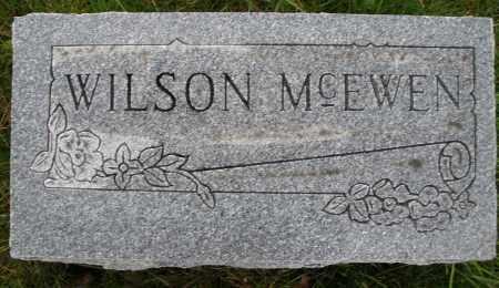 MCEWEN, WILSON - Montgomery County, Ohio | WILSON MCEWEN - Ohio Gravestone Photos