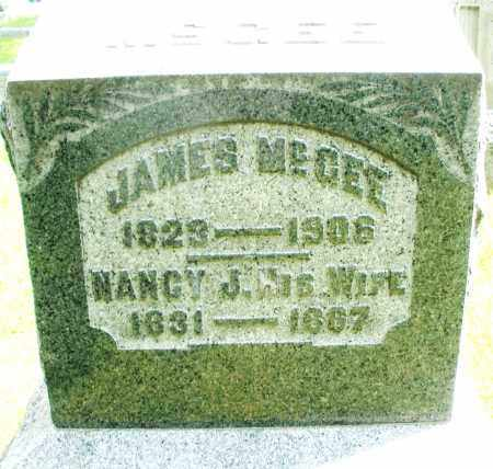 MCGEE, JAMES - Montgomery County, Ohio | JAMES MCGEE - Ohio Gravestone Photos