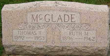 MOCK MCGLADE, RUTH - Montgomery County, Ohio | RUTH MOCK MCGLADE - Ohio Gravestone Photos