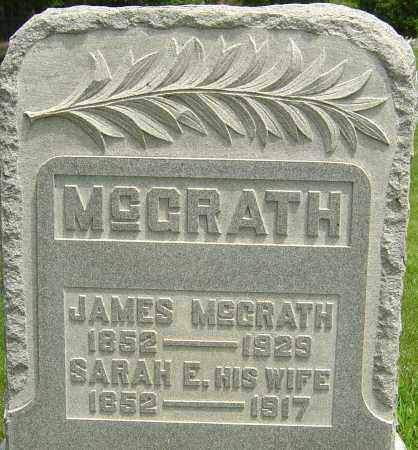 BECKNER MCGRATH, SARAH E - Montgomery County, Ohio | SARAH E BECKNER MCGRATH - Ohio Gravestone Photos