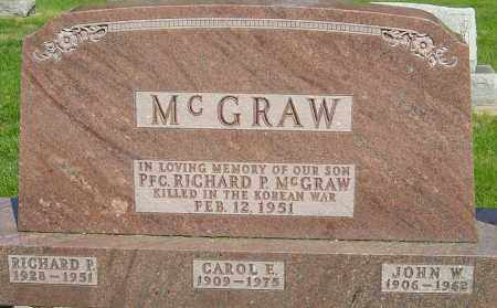 MCGRAW, RICHARD P - Montgomery County, Ohio | RICHARD P MCGRAW - Ohio Gravestone Photos