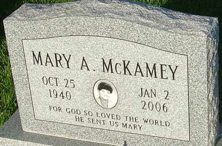 MCKAMEY, MARY A - Montgomery County, Ohio | MARY A MCKAMEY - Ohio Gravestone Photos