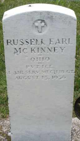MCKINNEY, RUSSELL EARL - Montgomery County, Ohio | RUSSELL EARL MCKINNEY - Ohio Gravestone Photos