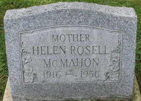 MCMAHON, HELEN ROSELL - Montgomery County, Ohio | HELEN ROSELL MCMAHON - Ohio Gravestone Photos