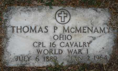 MCMENAMY, THOMAS P. - Montgomery County, Ohio | THOMAS P. MCMENAMY - Ohio Gravestone Photos