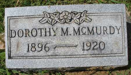 MCMURDY, DOROTHY M. - Montgomery County, Ohio | DOROTHY M. MCMURDY - Ohio Gravestone Photos