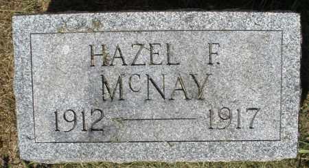 MCNAY, HAZEL F. - Montgomery County, Ohio | HAZEL F. MCNAY - Ohio Gravestone Photos
