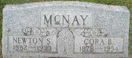 MCNAY, CORA B. - Montgomery County, Ohio | CORA B. MCNAY - Ohio Gravestone Photos