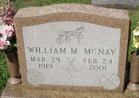 MCNAY, WILLIAM M. - Montgomery County, Ohio | WILLIAM M. MCNAY - Ohio Gravestone Photos
