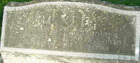 MCNEIL, ALMOND A - Montgomery County, Ohio | ALMOND A MCNEIL - Ohio Gravestone Photos