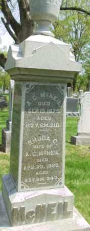 MCNEIL, A C - Montgomery County, Ohio | A C MCNEIL - Ohio Gravestone Photos